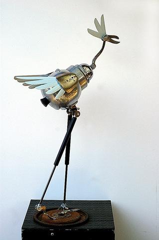 Scrap 2 Sculpt Artists' Reception this Saturday, Nov. 14th